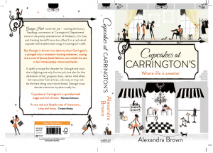 Cupcakes at Carrington's cover