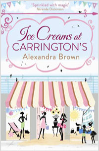 """Cover image of author Alex Brown's book """"Ice Creams at Carrington's"""""""