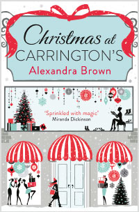 """Cover image of author Alex Brown's book """"Christmas at Carrington''s"""""""