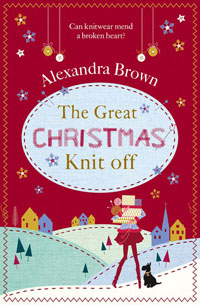 eBook cover of The Great Christmas Knit Off