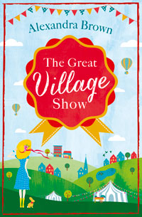 """Cover image of author Alex Brown's book """"The Great Village Show"""""""