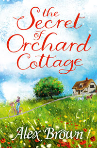 """Cover image of author Alex Brown's book """"The Secret of Orchard Cottage"""""""