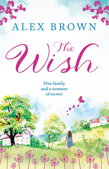 """Cover of Alexandra Brown's book """"The Wish"""""""