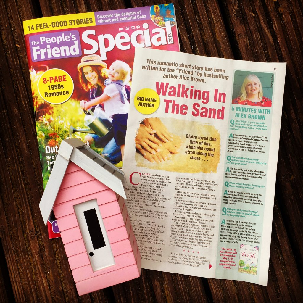 Peoples Friend Cover & Story